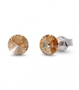 SPARK KOLCZYKI SMALL CANDY STUDS GOLDEN SHADOW